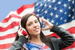 pronunciación del inglés americano