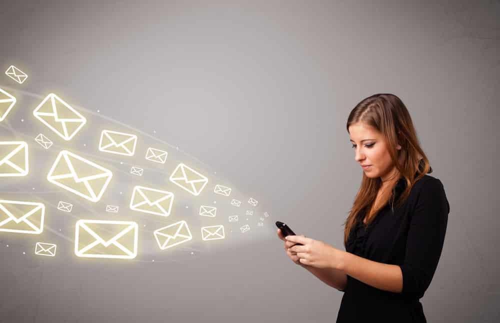 Escribir e-mail en inglés.