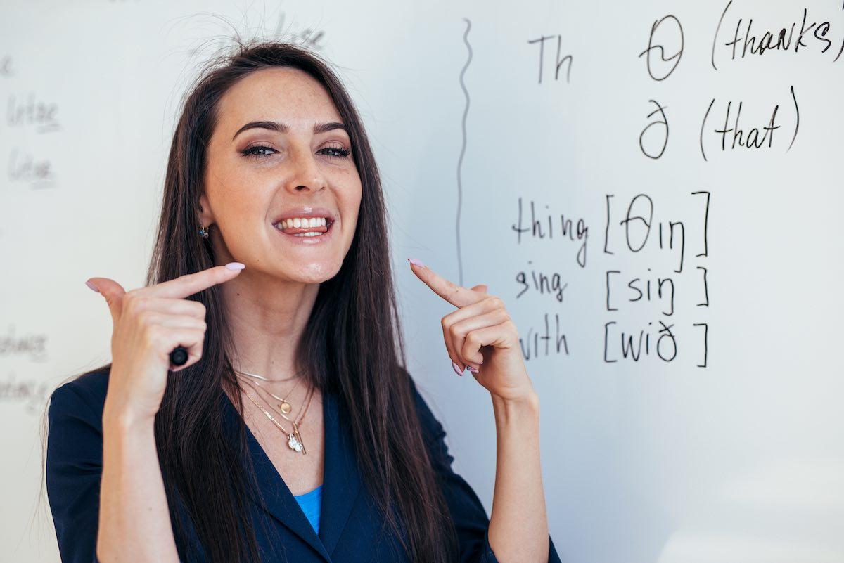 Pronunciación inglesa comparada con la española