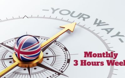 English Course 3 classes per Week (Monthly)