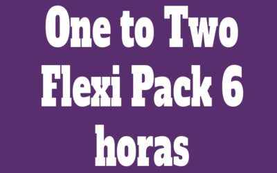 Flexi Pack One to Two 6 Clases