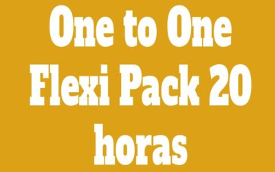 Flexi Pack One to One 20 Clases