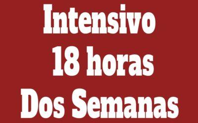 Intensivo Individual 18 horas (Dos Semanas)