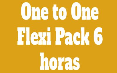 Flexi Pack One to One 6 Clases