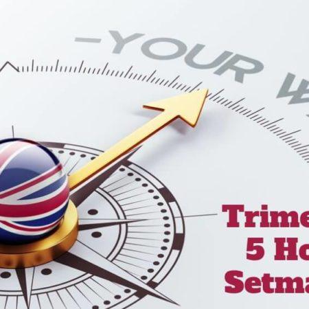 Curs d'Anglès 5 classes setmanals (Pagament Trimestral)