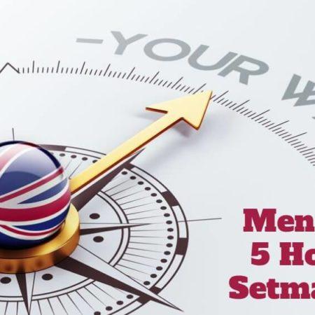 Curs d'Anglès 5 classes setmanals (Pagament Mensual)
