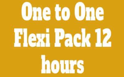 Flexi Pack One to One 12 Classes