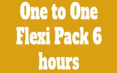 Flexi Pack One to One 6 Classes